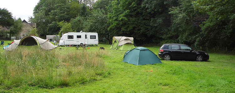 Camping at Woonton Court